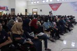 Ratusan peserta mengikuti roadshow kompetisi video pendek The 5-Min Video Challenge oleh Telkomsel di ISI Yogyakarta, Bantul, Senin (5/9). (Harian Jogja/Kusnul Isti Qomah)