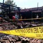 Kebakaran di Banaran, Sambungmacan, Sragen, Kamis (22/9/2016) malam. (Moh.Khodiq Duhri/JIBI/Solopos)