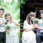 Pasangan artis dan aktor Kim So Yeon dan Lee Sang Woo (Allkpop)