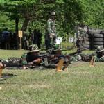 Ratusan Anggota Kodim 0724/Boyolali Gelar Latihan Menembak