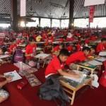 1.000 Anak Adu Kreativitas Lewat Mewarnai dan Menggambar