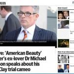 Dr Michael Robertson dalam pemberitaan di Herald Sun, 16 Juli 2014. (Istimewa)