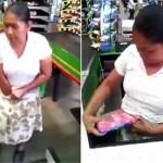 Seorang ibu mencuri dan menyembunyikan barang di dalam celana dalam (MIrror)