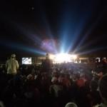 Ribuan warga memadati stadion Bathoro Katong, Ponorogo, untuk mengikuti Bumi Reog Bersalawat bersama Habib Syech, Senin (26/9/2016) malam. (Abdul Jalil/JIBI/Madiunpos.com)