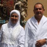 Simon Collis dan istrinya Huda (istimewa)