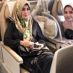 Tanpa Raffi Ahmad, Nagita Slavina Berangkat Umrah