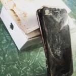 Apple-7 terbakar sejak di dalam kardus (reddit-com)