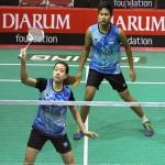 KEJUARAAN BULU TANGKIS : PB Djarum Rebut 2 Tiket Final Djarum Sirnas Jateng Open