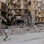 KONFLIK TIMUR TENGAH : Suriah dan Rusia Dihentikan Serangan Udara di Aleppo