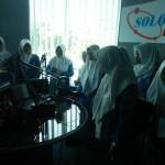 KUNJUNGAN MEDIA : SMK Muhammadiyah 1 Tempel Jogja Berkunjung ke Solopos