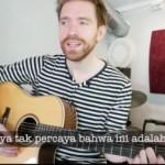 Kepincut Makanan Indonesia, Bule Norwegia Bikin Lagu Nasi Padang