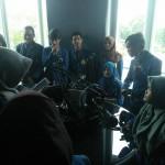 KUNJUNGAN MEDIA : Mahasiswa FTIK Universitas Semarang Study Tour ke Solopos