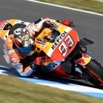 Marc Marquez di GP Jepang (Crash.net)