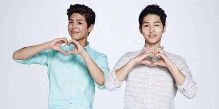 Park Bo Gum dan Song Joong Ki (Allkpop)