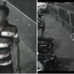 Pencurian motor di solo terekam cctv (Facebook)