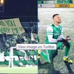 Danny Szetela Lamar Kekasih di Lapangan (Twitter)