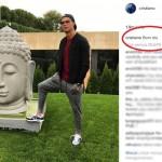 Gara-Gara Foto Ini Ronaldo Dituding Lecehkan Buddha