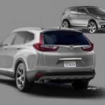 MOBIL TERBARU : Honda CR-V Terbaru Diluncurkan April 2017
