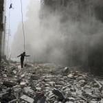 Serangan Rudal Suriah, RS di Aleppo Hancur