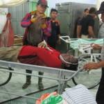 KISAH TRAGIS : Jenazah Dua Korban Meninggal Tersambar Petir Masih di RSUD Sragen
