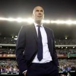 Pelatih Real Madrid, Zinedine Zidane. (REUTERS / Marcelo del Pozo)