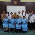 Para calon Bupati dan Wakil Bupati Kulonprogo saat pemeriksaan kesehatan di RSUD Wates. (Foto Istimewa)