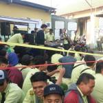 INFO TERKINI : Puluhan Kru Bus Trans Jogja Mogok Kerja dan Demo di Kantor Manajemen