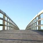 INFRASTRUKTUR WONOGIRI : Sedang Direhab, Tiang Penyangga Jembatan Karanglo Diempas Arus Sungai