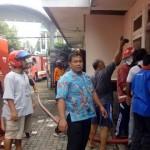 KEBAKARAN PACITAN : Elpiji Bocor, Dapur Hotel Remaja Pacitan Terbakar