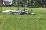 KECELAKAAN PESAWAT : KNKT Terjunkan 3 Personel Selidiki Jatuhnya Pesawat di Cilacap