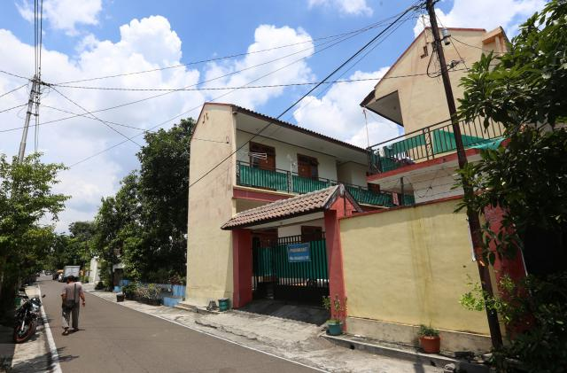 Suasana kawasan rumah yang digunakan untuk indekos di Sumber, Banjarsari, Solo. (Ivanovich Aldino/JIBI/Solopos)