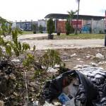 Manunggal Fair Usai, Sampah Bertebaran di Stadion Cangkring dan Rumput Rusak