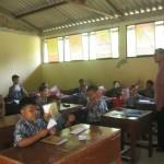 PENDIDIKAN WONOGIRI : Ruang Kelas Tak Berplafon, Puluhan Siswa Kegerahan Saat Belajar