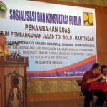 TOL SOLO-MANTINGAN : Perluasan Lahan Tol di Sragen Butuh 18,204 Hektare