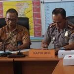 PT Angkasa Pura 1 dan Polres Kulonprogo melakukan penandatanganan MOU terkait pengamanan aset dan prmbangunan Bandara NYIA, Kamis (20/10/2016) di Polres Kulonprogo. (Sekar Langit Nariswari/JIBI/Harian Jogja)