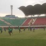 PIALA AFF 2016 : Timnas Mulai Latihan di Stadion Maguwoharjo