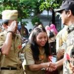 PUNGLI SEMARANG : Pimpin Upacara PNS, Wali Kota Umbar Ancaman Pecat PNS Nakal