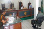 PUNGLI TNI : Jadi Calo Penerimaan Anggota TNI, 2 Tentara Kodam IV Disidang