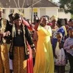 Joshua Mugo menggelar pernikahan dengan adat Jawa. (Istimewa/Youtube)