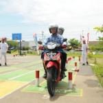 Hari Pahlawan, Honda Astra Jateng Beri Pelatihan Aman Berkendara