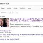 Berita palsu pemilu AS di Google In News (Bussines Insider)
