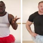 Binaragawan mencoba tari balet (Youtube)