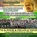 DEMO 4 NOVEMBER : Seruan Habib Rizieq: Libur Sekolah hingga Minta TNI dan PNS Ikut Demo