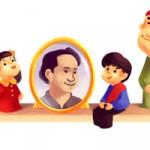 "Google Doodle Rayakan Ultah Suyadi ""Pak Raden"""