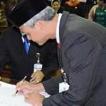 Gubernur Jateng Dorong Kabupaten dan Kota Percepat Bangun Infrastruktur