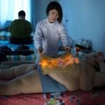 Li Hang Menjalani terapi Api (EPA)