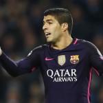 Striker Barcelona, Luis Suarez. (Reuters / Jason Cairnduff)