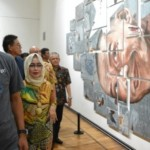 FOTO PAMERAN SEMARANG : Biennale Jateng: Kronotopos Dihadiri Gubernur
