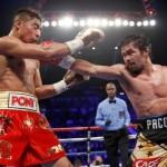 TINJU DUNIA : Balik ke Ring, Pacquiao Taklukkan Jessie Vargas