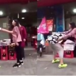 Perempuan hajar pacarnya (Youtube)